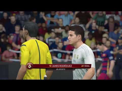 FIFA 2016- Barcelona FC vs Real Madrid