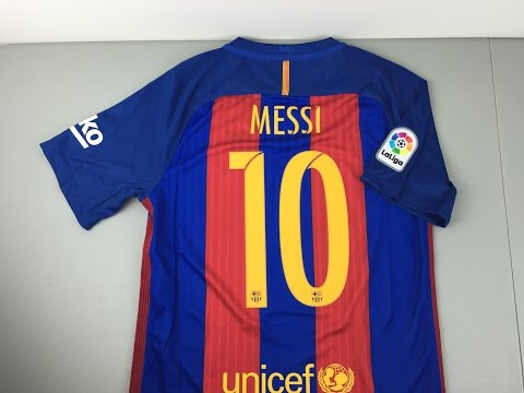 2016/2017 FC Barcelona Replica Home Jersey Review [4K]