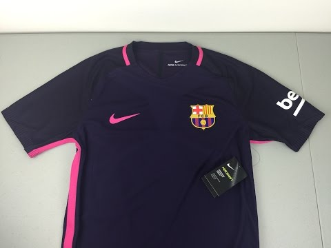 2016/2017 FC Barcelona Authentic Away Jersey Review [4K]