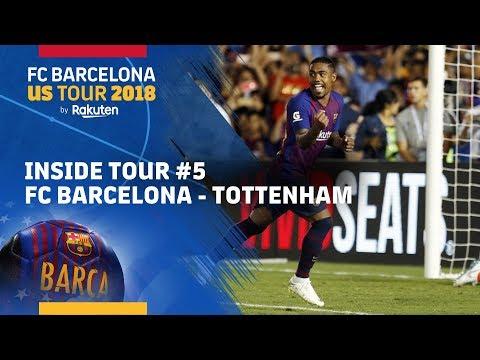 INSIDE TOUR #5 | FC Barcelona vs. Tottenham