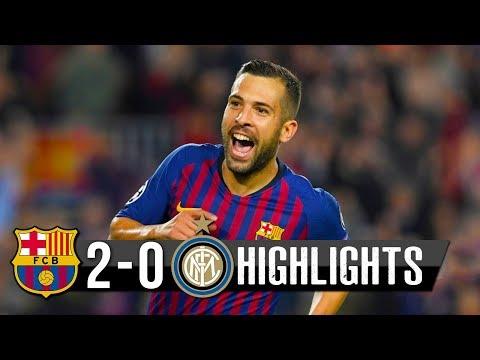 Barcelona Vs Inter 2−0 – All Goals & Extended Highlights – Resumen y Goles 2018