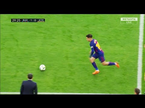 Philippe Coutinho Vs Atletico Madrid (Home) HD 720p (04.03.2018) By NugoBasilaia