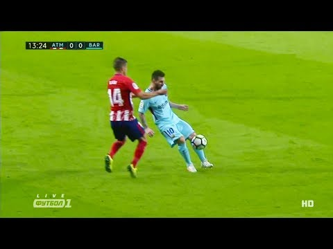 Lionel Messi Vs Atletico Madrid (Away) 14/10/2017 HD 720p By NugoBasilaia
