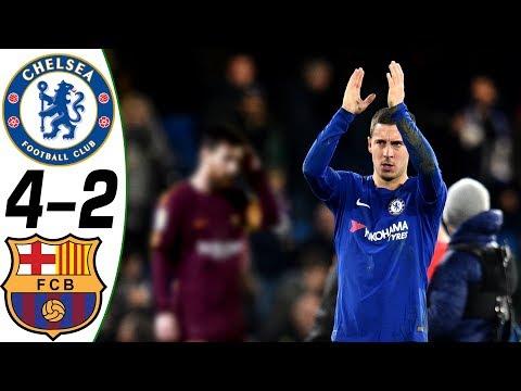 Chelsea vs Barcelona 4-2 – All Goals & Highlights Résumé & Goles (Last Match) HD