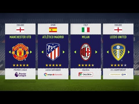 FIFA 18: 10 Best Teams To Use In FIFA 18 Career Mode