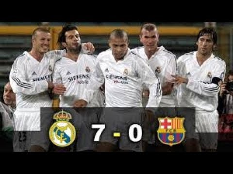 Real Madrid vs Barcelona 7-0 Full Match Goals & Highlights || Most Watched Football Match