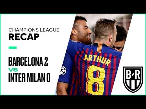 Barcelona vs. Inter Milan Champions League Group Stage FULL Match Highlights: 2-0
