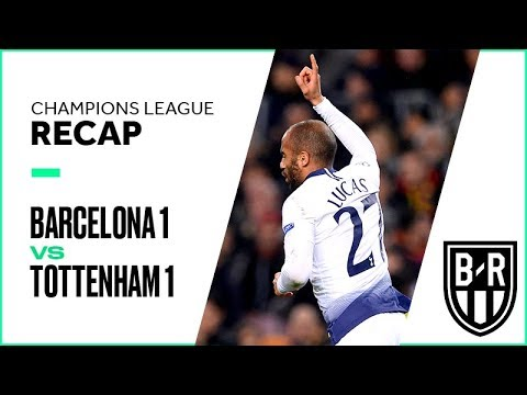 Barcelona vs. Tottenham Champions League Group Stage FULL Match Highlights: 1-1