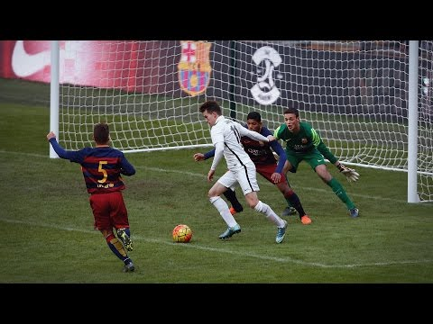 Nike Academy: FC Barcelona at Wembley