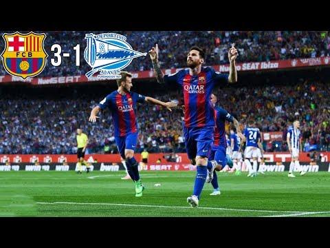 FC Barcelona 3-1 Deportivo Alaves | Maç Özeti, Tüm Goller | Kral Kupası Finali | 27/05/2017 • HD