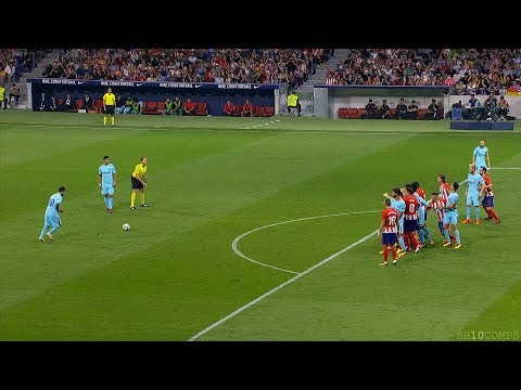 Lionel Messi vs Atletico Madrid (Away) 14/10/2017 HD 1080i – English Commentary