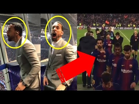 REACTIONS TO MESSI AND BARCELONA DOMINATION AGAINST CHELSEA , NEYMAR TRAINS WITH INJURED LEG