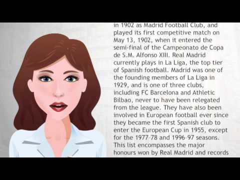 List of Real Madrid C F  records and statistics – Wiki Videos
