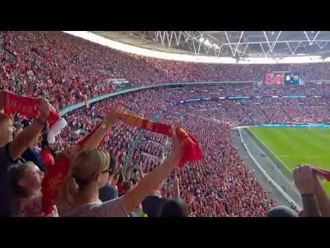 Liverpool VS Barcelona (Team Arrival And YNWA) – Smilar