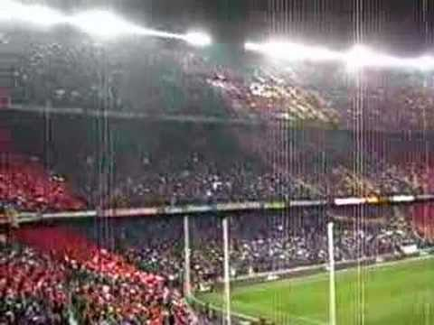 FC Barcelona anthem in Camp Nou (Catalan Countries)