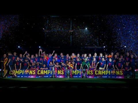 FC Barcelona – The treble celebrations at Camp Nou