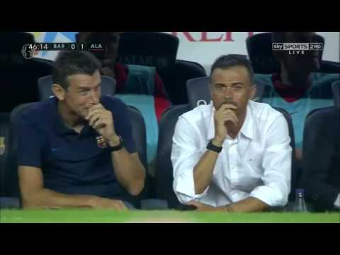 Barcelona vs Alaves 1-2 All Goals And Highlights (La Liga) 2016