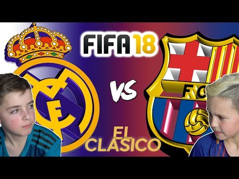 REAL MADRID VS BARCELONA | EL CLASICO 2017 | FIFA 18 EDITION