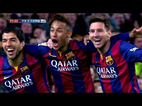 Neymar vs Atletico Madrid Home HD 1080i (11/01/2015) by MNcomps