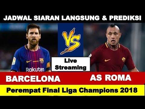 Jadwal Siaran Langsung BARCELONA vs AS ROMA, Perempat Final Liga Champions 2018
