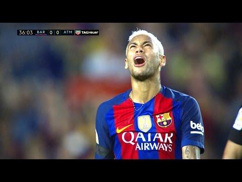 Neymar vs Atletico Madrid Home HD 1080i (21/09/2016) by MNcomps