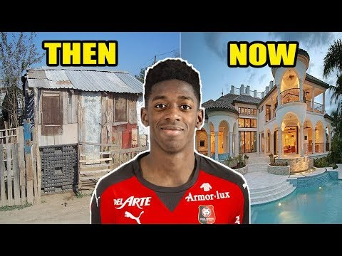 FC Barcelona Football Players House | Then and Now 2018