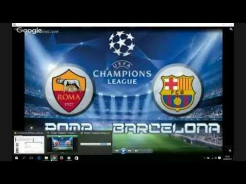 Live Stream : AS Roma vs Barcelona FULL MATCH hd Champions League 16/09/2015