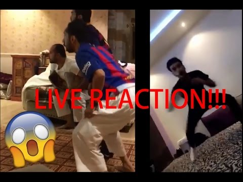 FC BARCELONA VS PSG LAST GOAL | PEOPLE LIVE REACTION WORLDWIDE COMPILATION