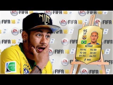 Footballers REACT to their NEW FIFA Ratings… (w/ Neymar, Messi, Ronaldo)