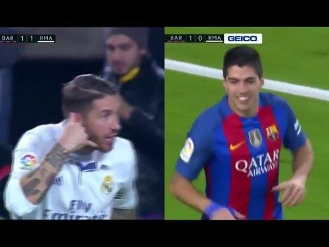 FC Barcelona vs Real Madrid 1-1 – La Liga 2016/2017 – Full Highlights English Commentary