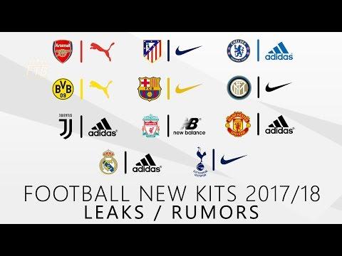 FC Barcelona, Real Madrid, Manchester United & more | NEW KITS 2017/2018 | Leaks & Rumors