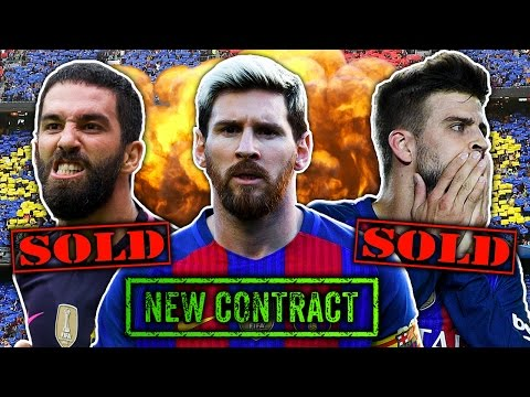 Barcelona Forced To Sell Stars To Keep Lionel Messi?! | Transfer Talk
