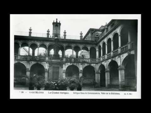 Barcelona Old pictures in 4k HD