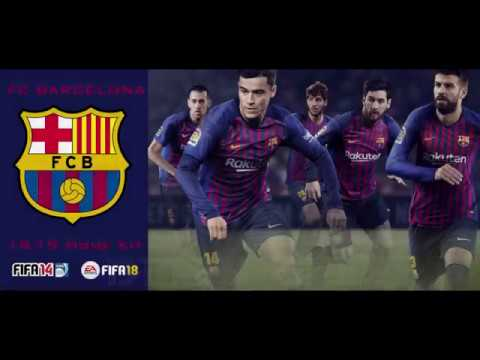 FC Barcelona 18/19 Home Kit (Official Version) [FIFA 14 & FIFA 18]