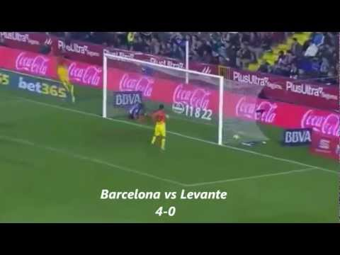 Barcelona Vs Alaves 3-1 full highlights November 28, 2012