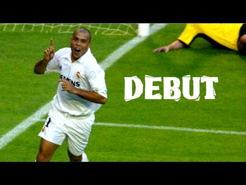 RONALDO DEBUT FOR REAL MADRID – (Real Madrid vs Deportivo Alaves 06/10/2002)