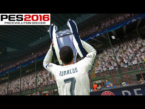 PES 2016 – UEFA Champions League Final – Real Madrid vs FC Barcelona – Penalty Shootout