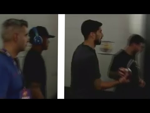 Lionel Messi and Suarez IGNORE Neymar on FC Barcelona Training 29/07/2017