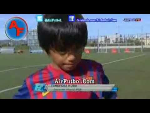 """Messi """" Next Generation """" For FC Barcelona From Japan"""