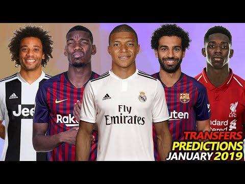 TRANSFER PREDICTIONS AND RUMOURS JANUARY 2019 Ft. POGBA, SALAH, MBAPPE, MARCELO, DEMBELE…