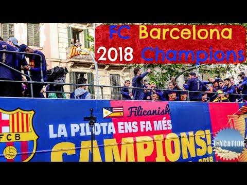 FC BARCELONA CHAMPIONS ROAD TO EL CLÁSICO   2018 CAMP NOU VIP EXPERIENCE
