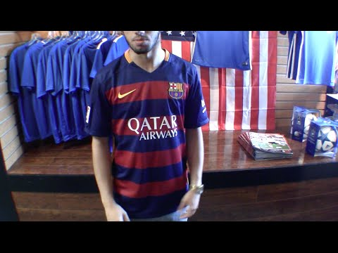 FC Barcelona 2015/16 Home Jersey Review
