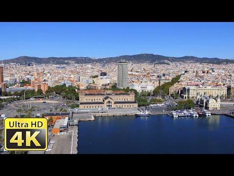 Barcelona Spain – Amazing 4k video ultra hd