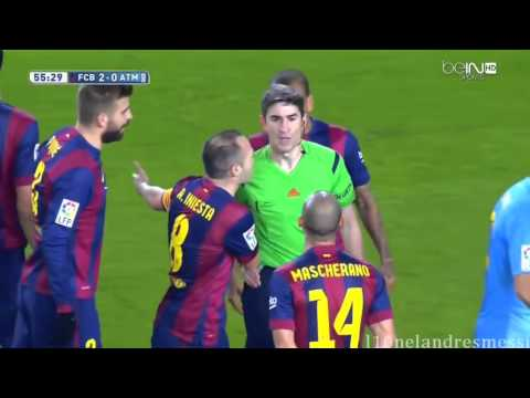 Atletico Madrid Vs FC Barcelona  1-2 All Action and Goal 2/1/2016 HD