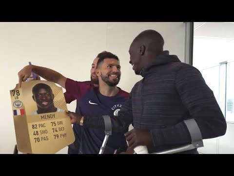 Footballers react to their FIFA 18 ratings