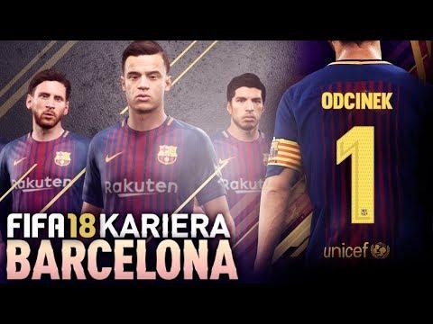 FIFA 18 | KARIERA FC BARCELONA | #01 – Powrócić na szczyt!