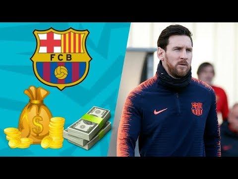 FC Barcelona Players Salaries 2018 (Weekly Wages) Contract End Detail (NEW-Updated)