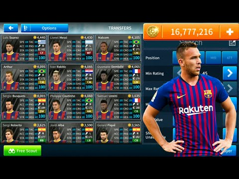 How To Hack FC Barcelona Team 2018-19 ● All Players 100 ● Dream League Soccer 2019 – NEW UPDATE