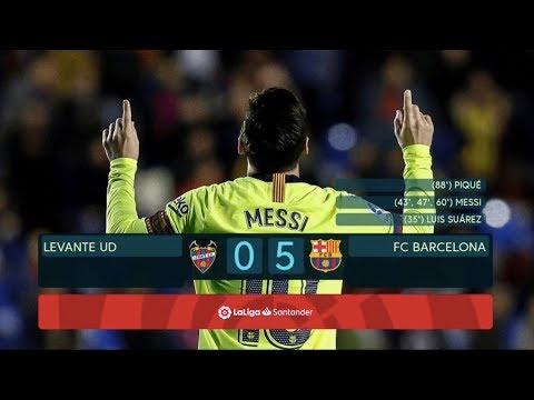 Levante vs Barcelona [0-5], La Liga 2018/19 – MATCH REVIEW