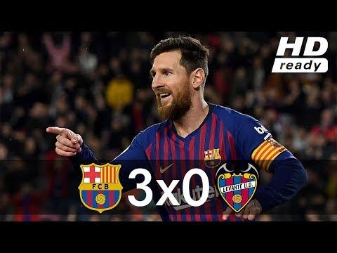 Barcelona vs Levante 3-0 – All Goals & Extended Highlights – 2019